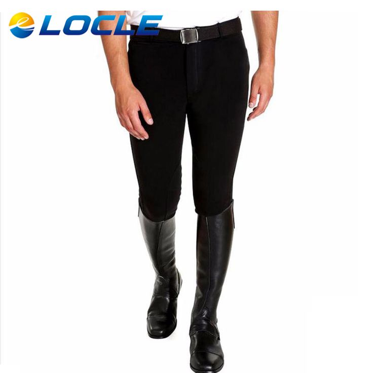 Men Cotton Horse Riding Pants Professional Equestrian Schooling Chaps For Men Horse Riding Breeches 5 Sizes