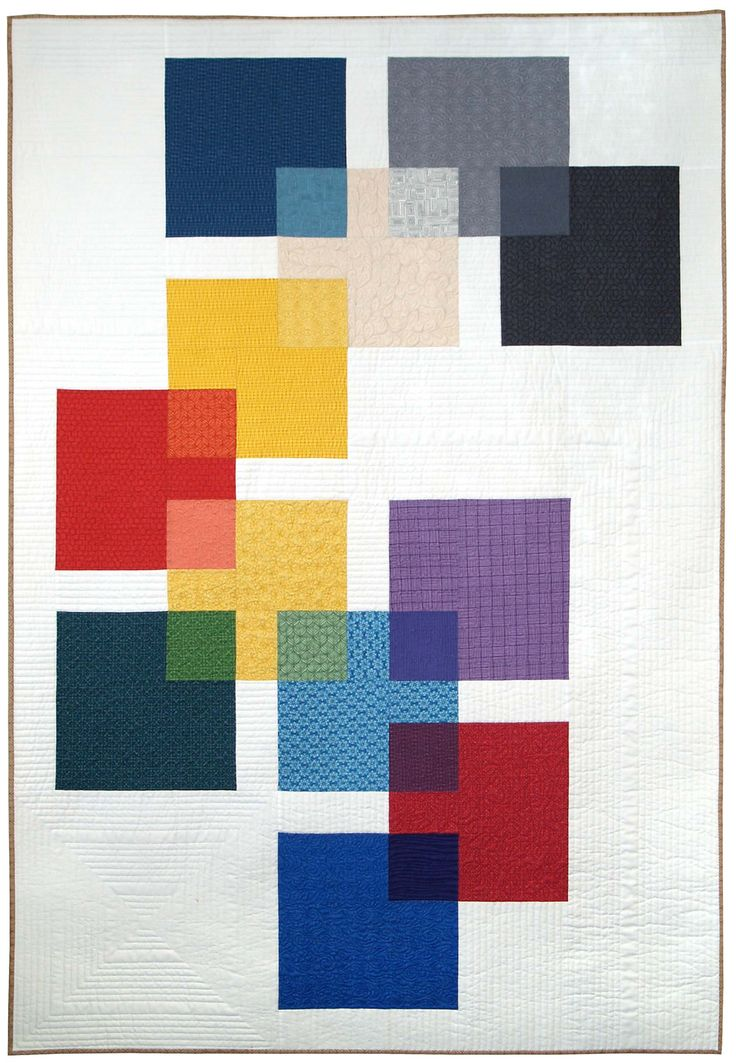 Swatch quilt, designed by Modern Quilt Studio. Click on the picture to download the free pattern.