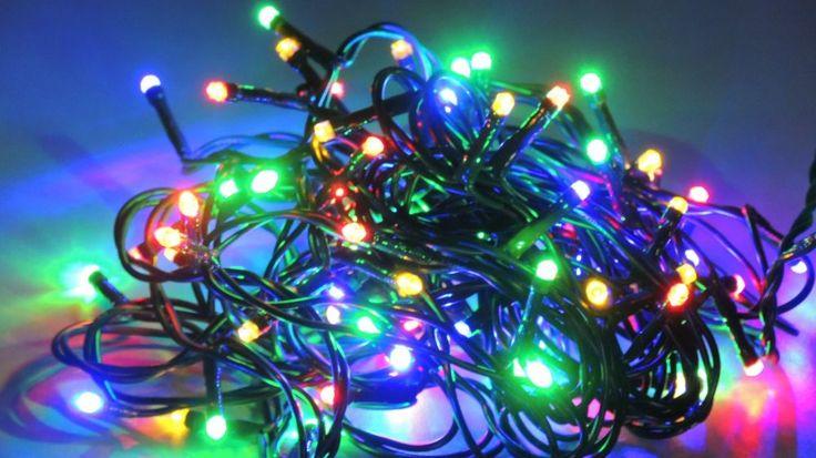 Elemes LED füzér 50