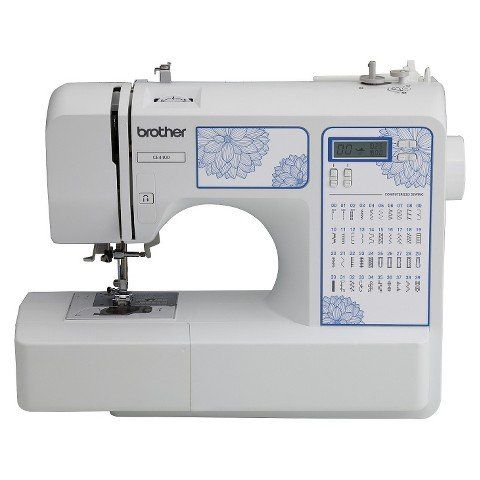 Create your own line of fabulous with the Brother Sewing Machine CE4400. This wonderful little sewing machine will take your designs from mental masterpieces to physical perfection. It's easy to use a...