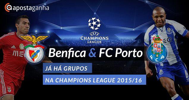 Já há adversários sorteados para Sport Lisboa e #Benfica e #FCPorto na #UEFA #Champion League  O ApostaGanha dá-te a conhecer tudo em primeira mão!  http://www.apostaganha.pt/2015/08/27/ja-ha-adversarios-para-benfica-e-fc-porto-na-liga-dos-campeoes-201516/  Quem achas que tem mais hipóteses? #Benfica ou #Porto?  #UCL #SLB #FCP #ChampionsLeague #LigaCampeões #futebol #apostas