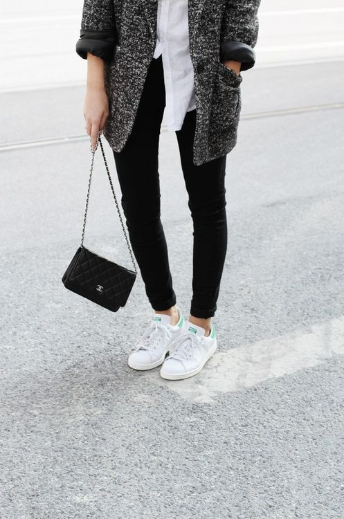 stan smiths make anything look good
