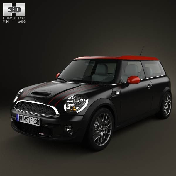 Mini John Cooper Works Clubman 2011 3d model from humster3d.com. Price: $75