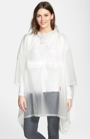 Hunter 'Original' Waterproof Clear Poncho available at #Nordstrom