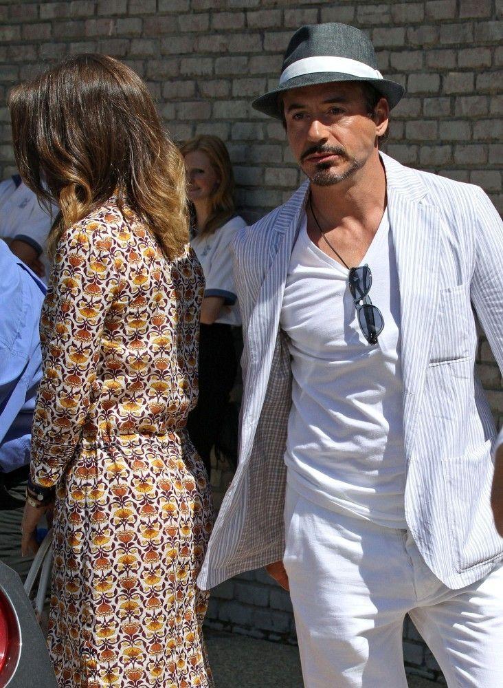 Robert Downey Jr  - Stars at Joel Silver's Beach Party