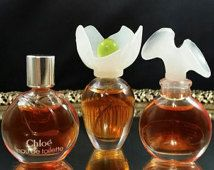 3 miniatures Chloé Mini parfum flacons à échantillon parfum inutilisés