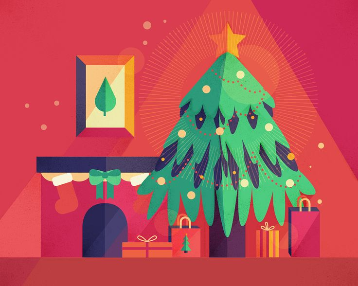 Merry Christmas & Happy Holidays | 2015 on Behance