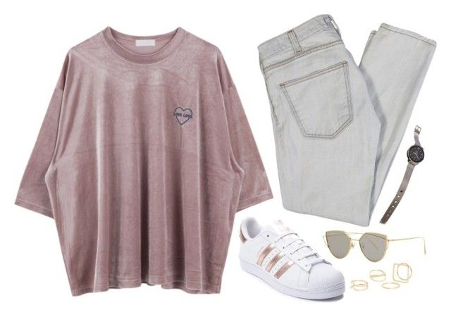 """pink velvet"" by tara-subono on Polyvore"