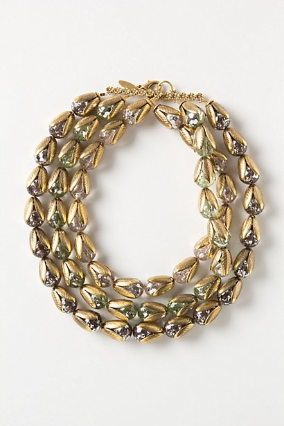 Florets Necklace #anthropologie: Floret Necklaces, Statement Necklaces, Jewelry Inspiration, Funky Jewelry, Gold Floret, Necklaces Anthropology, Anthropologie Com, Accessories, Products