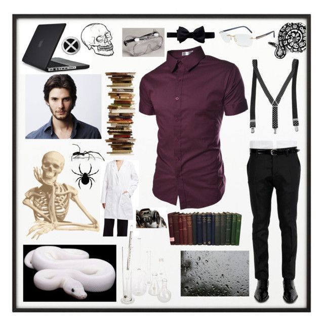"""""""A Much Cooler, More Stylish, Male Me"""" by sydneytheleprechaun ❤ liked on Polyvore featuring By Lassen, Speck, Dsquared2, TheLees, Brooks Brothers, Lab, men's fashion and menswear"""