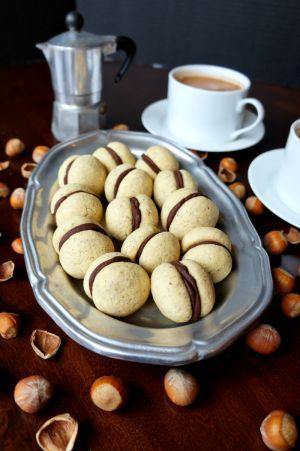 baci di dama {chocolate hazelnut cookies}   The Baking Fairy