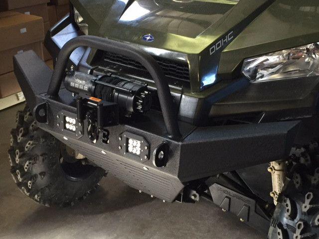 Polaris Ranger Mid-Size Front Bumper w/Lights