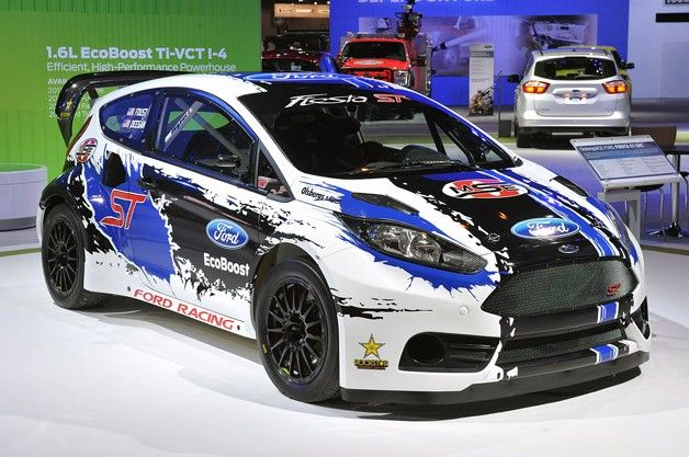Ford Fiesta ST GRC Race car www.truefleet.co.uk