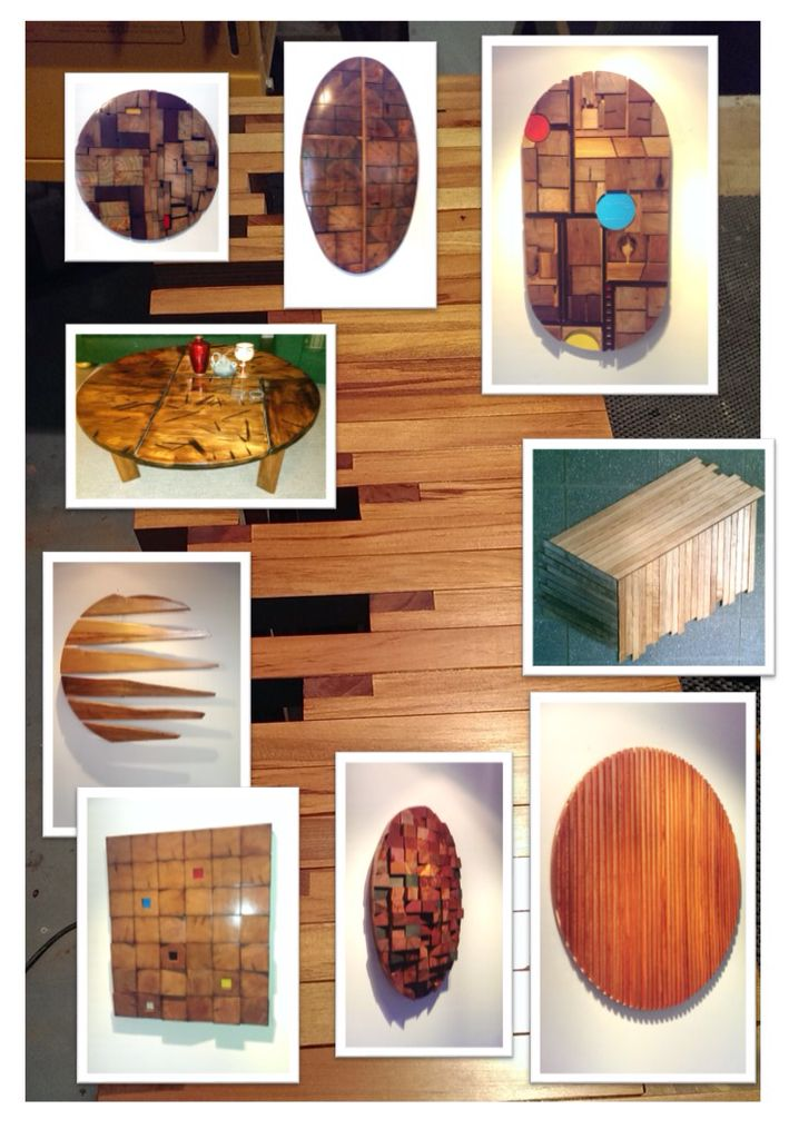 A photo montage of my latest exhibition.  Rekindle shop, 35 New Regents St, Christchurch.