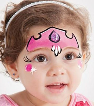 face painting ideas for kids - Get your 16 color palette by Ellie Arts http://www.amazon.com/gp/product/B017L2I0EM