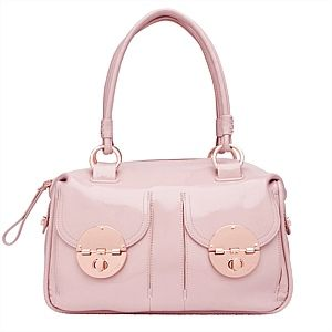 Been spying this for sometime, can't wait to collect it!!! - Mimco blossom pink rose gold turnlock