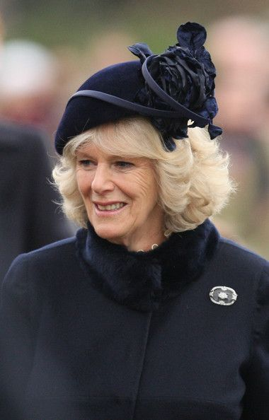 Camilla Parker Bowles Photo - Royals Attend Christmas Day Service At Sandringham