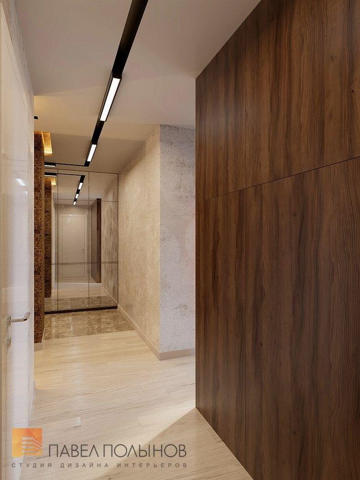 Фото: Дизайн коридора - Квартира в современном стиле, ЖК «Сергиев Пассаж», 110 кв.м.
