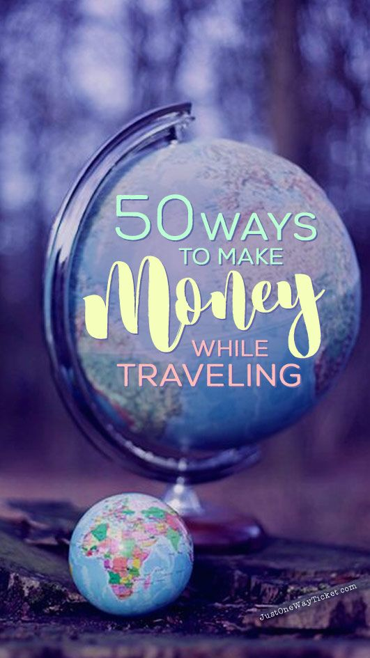 You want to work and travel? Pack your bags! Here is the most extensive list of the best traveling jobs in the world | Photo © Melanie Mecking | Das Lichtmädchen | via @Just1WayTicket | Best Travel Jobs | 50 Ways To Make Money While Traveling The World