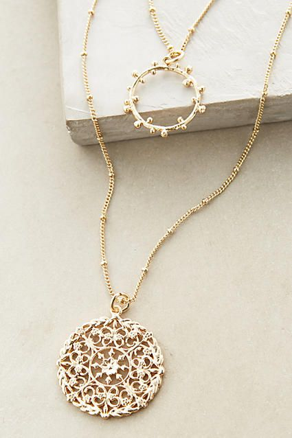 Maneto Pendant Necklace #anthropologie #anthrofave