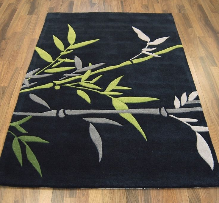 Harlequin Bamboo Grey/Green Rug €155