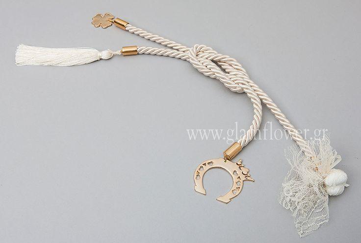 Μπομπονιέρες Γάμου - Γούρι - Κρεμαστή : Μπομπονιέρα γάμου κρεμαστή με πέταλλο10,90 €