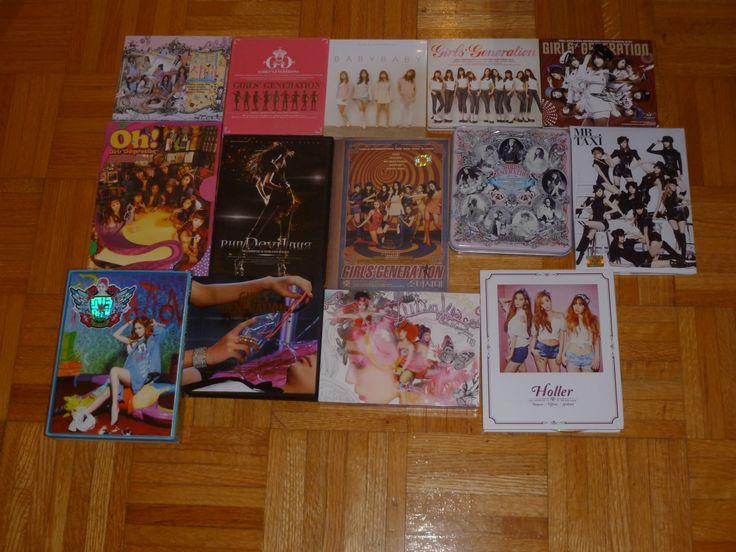 All korean SNSD album