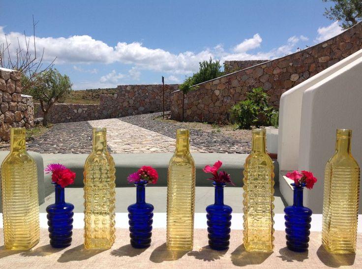 Funky florals, funky bottles!