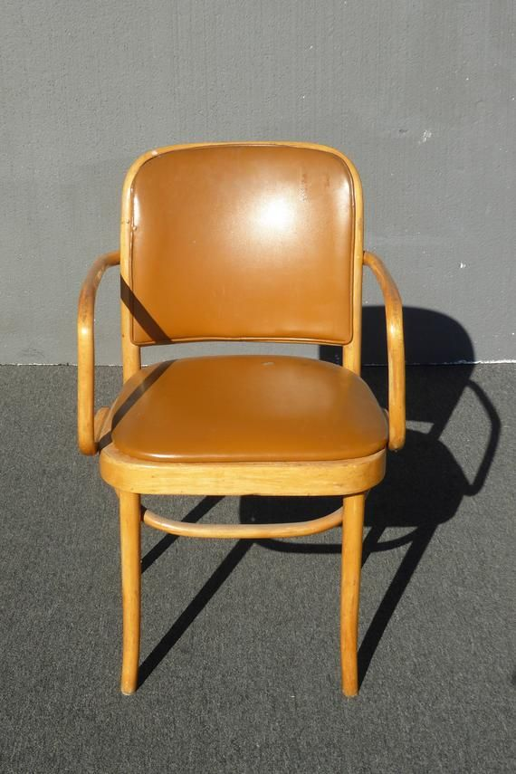 Astounding Vintage Mid Century Modern Bamboo Bentwood Orange Accent Best Image Libraries Counlowcountryjoecom