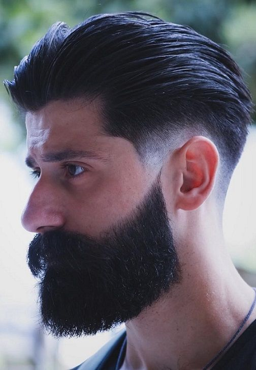 30 Cool Men S Hairstyles With Beard 2018 2019 Latest Mens