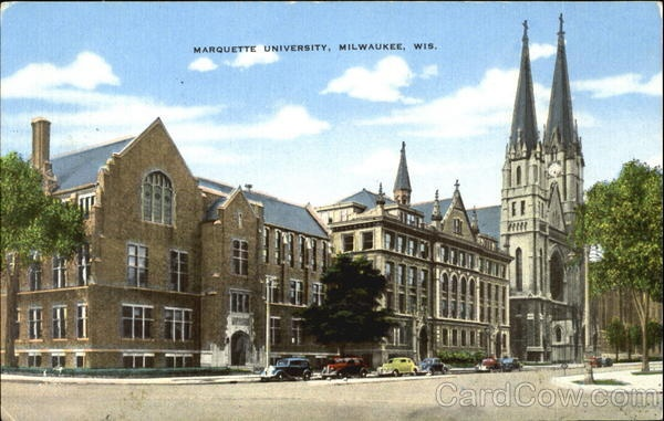 Johnston Hall postcard