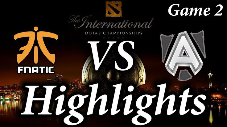 TI6 Fnatic vs Alliance Game 2 Highlights The International 2016