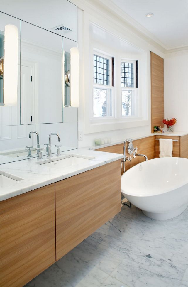Photo Of Cambridge Contemporary Bathroom modern bathroom boston by LDa Architecture u Interiors