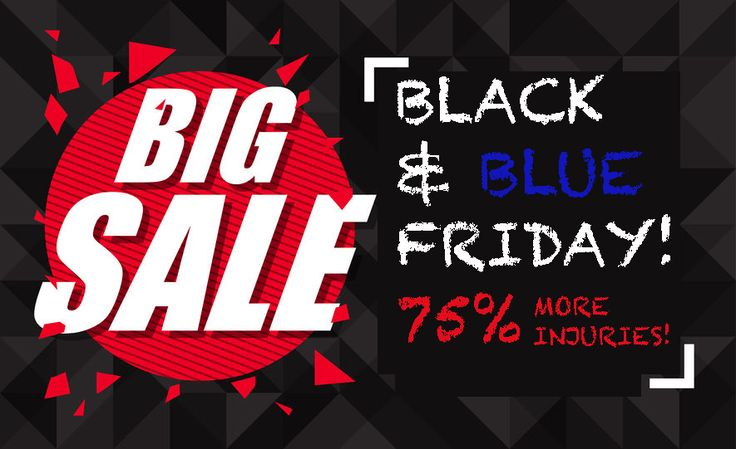 "ACEP Renames Black Friday ""Black & Blue Friday"" - http://gomerblog.com/2016/11/black-blue-friday/?utm_source=PN&utm_campaign=DIRECT - #Black_Friday, #Christmas, #Gifts, #Thanksgiving"