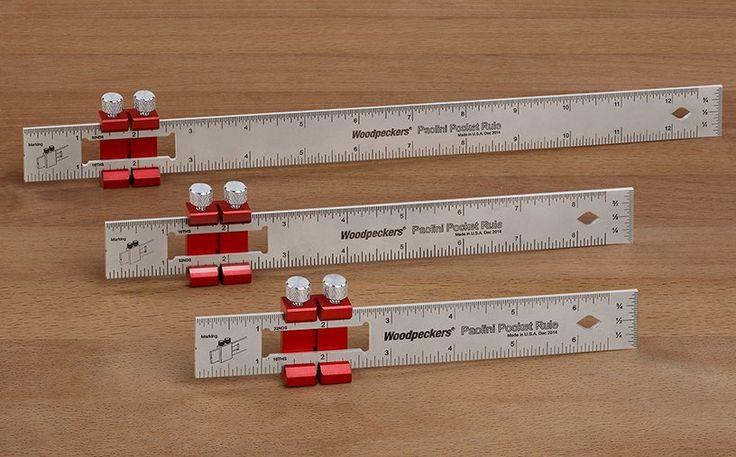 Woodpeckers OneTime Tool - Paolini Pocket Rules