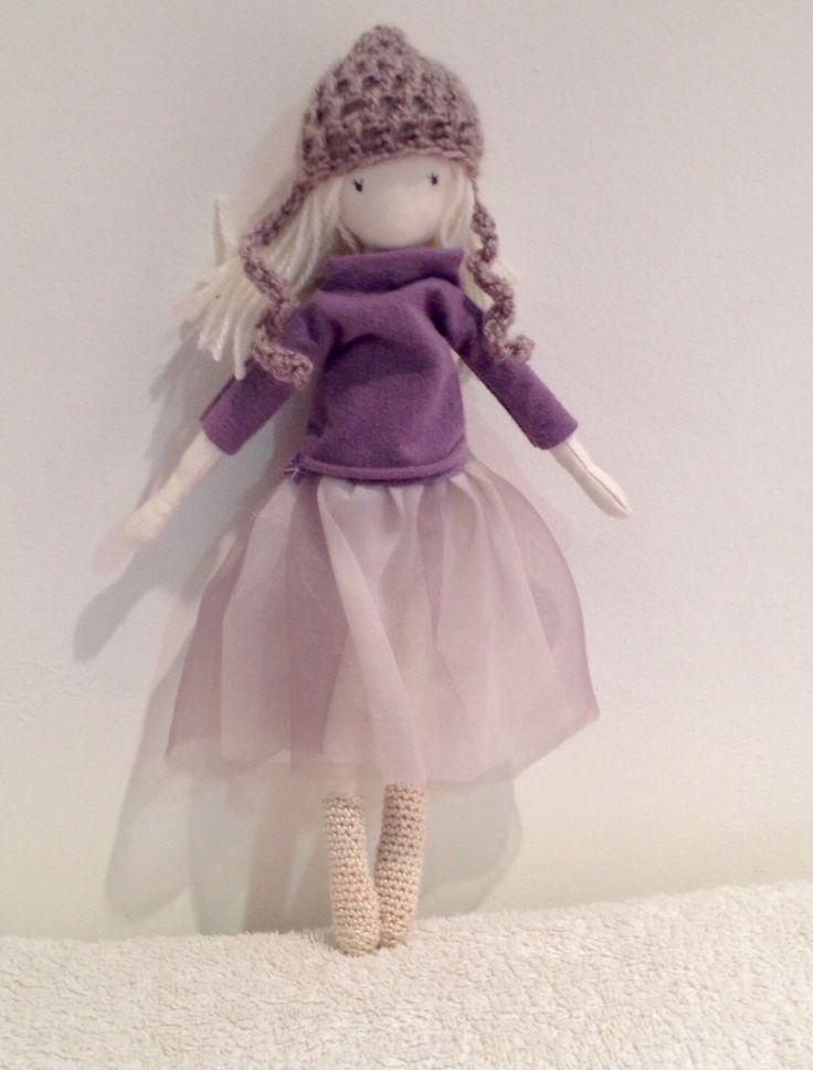 ✩Inma Handmade Cloth Doll.