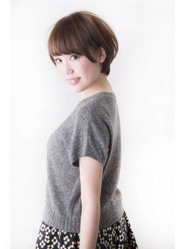 ハヤト トウキョウ Hayato Tokyo【HAYATO】洗練+かわいい 耳かけショートボブ