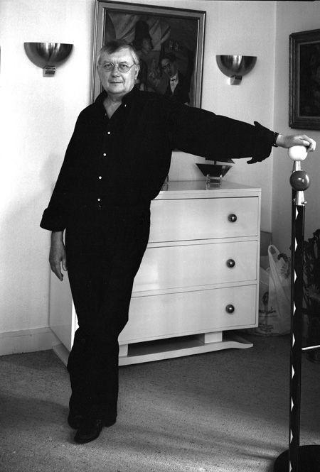 Jean Vautrin (1933) - French writer, filmmaker and screenwriter. Photo © Despatin & Gobeli, 1989