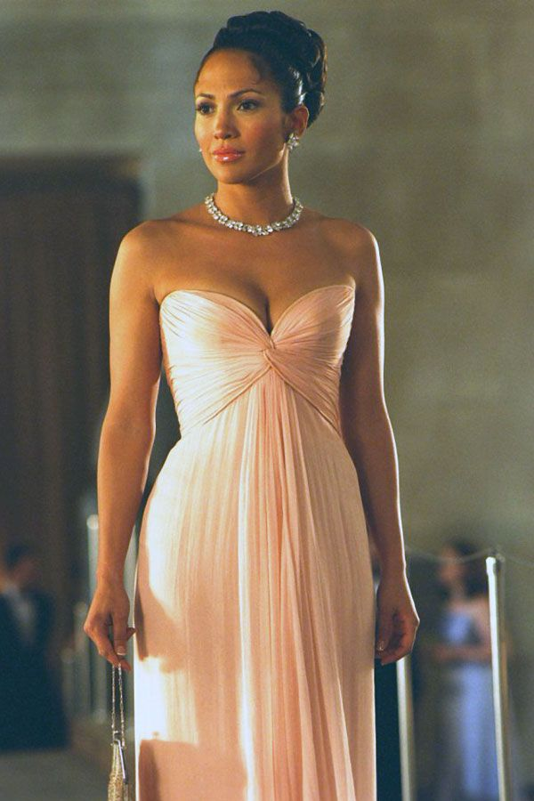 J.Lo's dress from Maid In Manhattan love this dress especially the Harry Winston necklace!