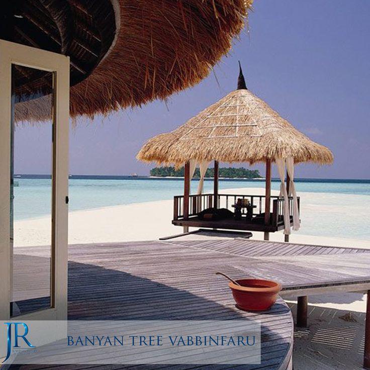 Banyan Tree Vabbinfaru  #Maldives #Travel #Jordan_Road #Honeymoon #Sea #Beach