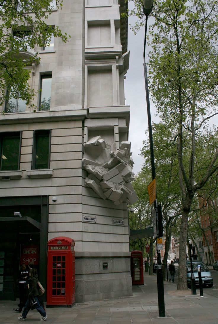 "Richard Wilson ""Square The Block"" @ LSE, London"