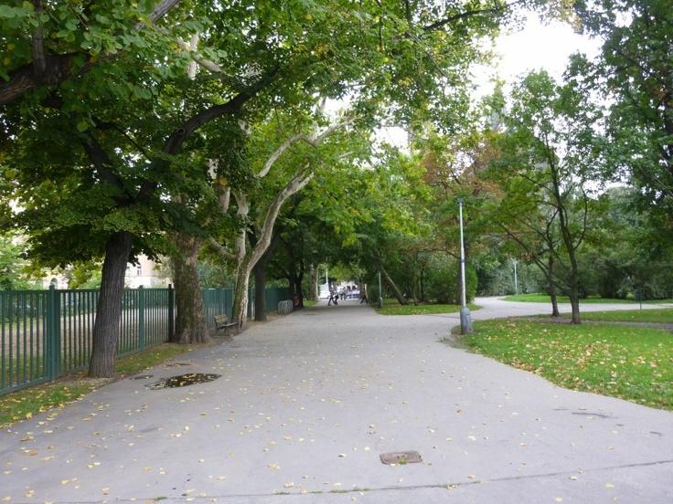 Praha - Park na Karlínském náměstí