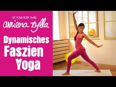 Dynamisches Faszien Yoga mit Amiena Zylla - 15 Minuten Programm - YouTube