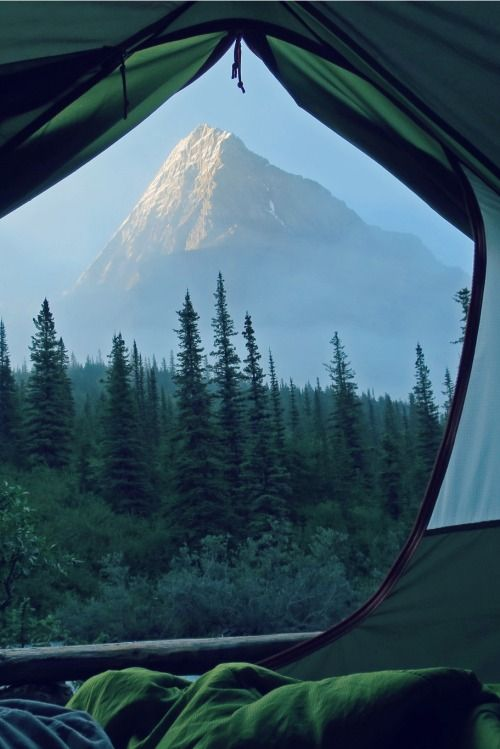 camping with views