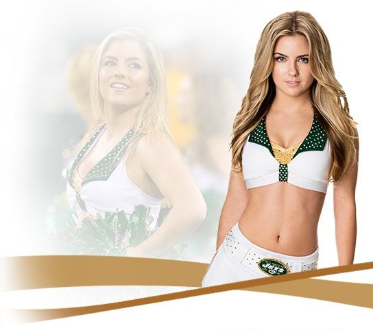 2016 New York Jets Cheerleader
