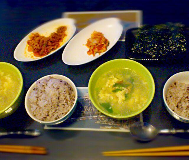 二日酔いには干しタラのスープ。お肌もツルツルです。 - 16件のもぐもぐ - 「プゴク」で朝定食。 by shino4minutes