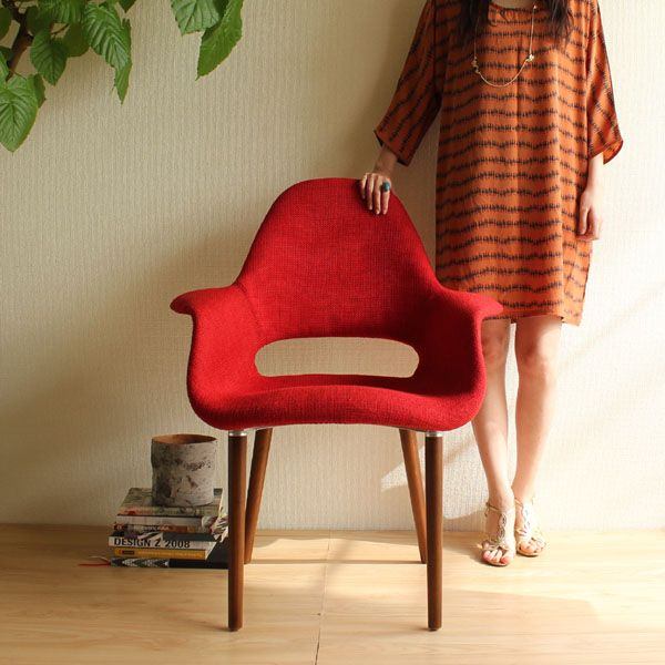 【楽天市場】【選べる4色☆】【デザイナー:イームズ & エーロ・サーリネン】商品名: Organic Chair(オーガニックチェア)プレミアム【リプロダクト・ジェネリック】【デザイナーズ】【ダイニングチェア】【椅子】【高品質】【楽天】【通販】:sandy style