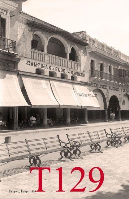 Tampico, calle Aurora, 1928                            ...