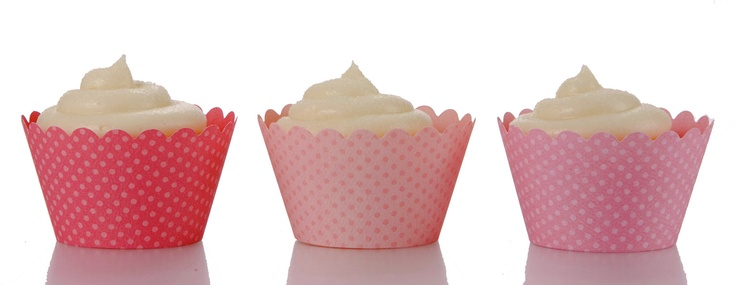 Pink Baby Shower Cupcake Wrappers & Cupcake Decorations | Dress My Cupcake