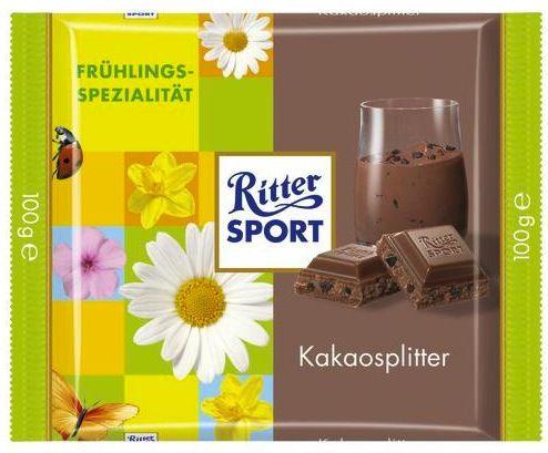 RITTER SPORT Frühlingssorten Kakaosplitter (2013)